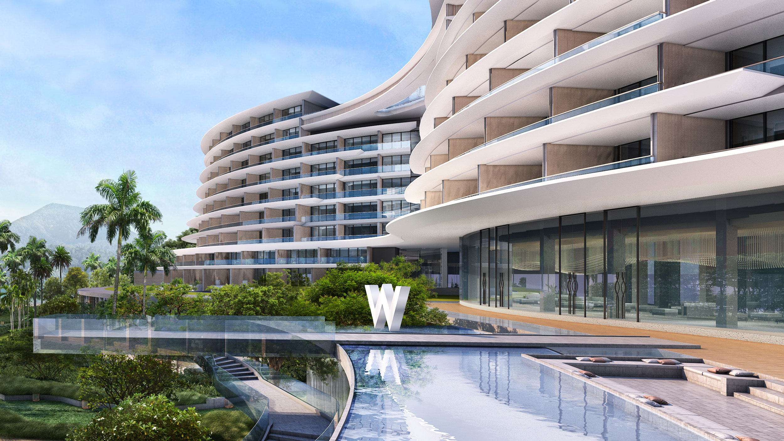 luxury resort shenzhen, building design
